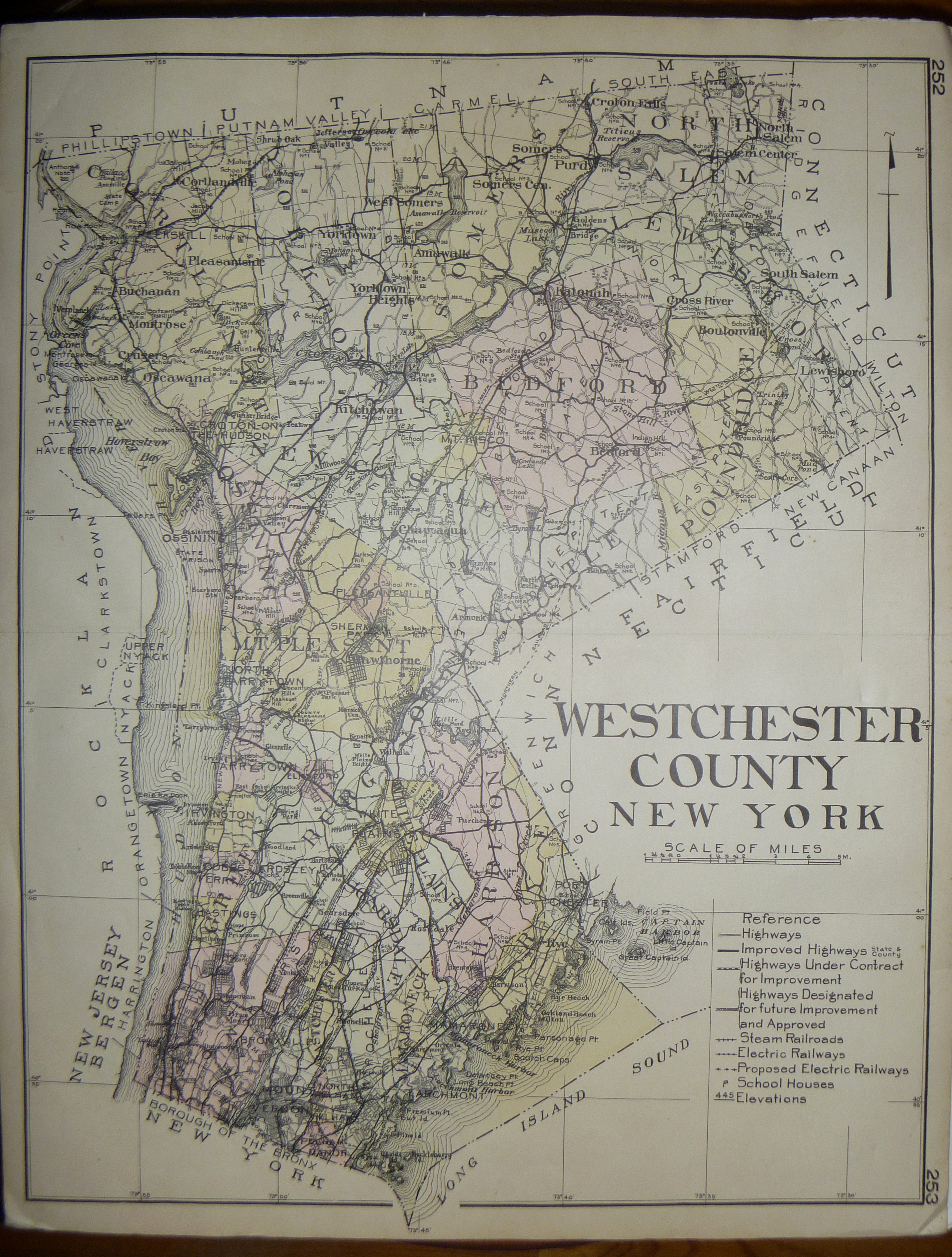 WFA-AntiqueMap-WestchesterCounty